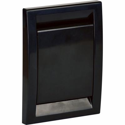 Пневморозетка DECO, черная