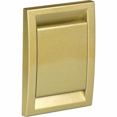 Пневморозетка DECO, золото