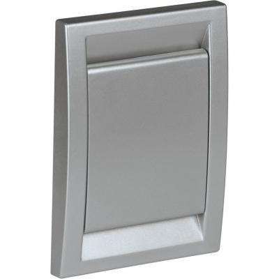 Пневморозетка DECO, серебро