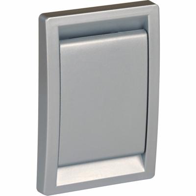 Пневморозетка LS, серебро