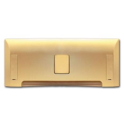 Пневмосовок LEOVAC высокий, золото