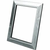Рамка для пневморозетки LS, серебро