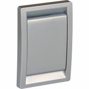 Пневморозетка LS, срібло