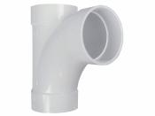 Тройник 90° TY (мама-мама-мама) для труб встроенного пылесоса