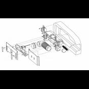 Монтажна коробка пневмосовка LEOVAC в стіну