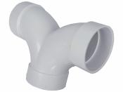 Тройник ПВХ для труб встроенного пылесоса