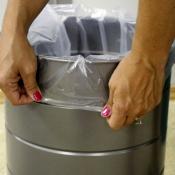 Полиэтиленовые пакеты для мусорного бака встроенного пылесоса