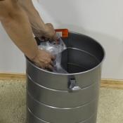 Мусорный бак встроенного пылесоса