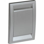 Пневморозетка DECO, срібло